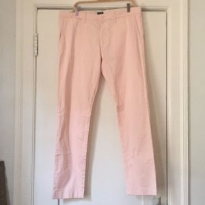 Other - Jcrew pink men's slacks. Size: 36 width 32 long